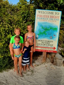 We've been to Norman Island now a couple of times ... great beach that the kids love to play on and snorkel from