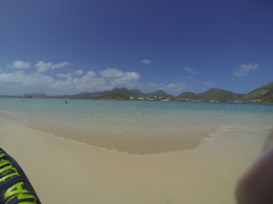 Pinel Island with St. Martin as a back drop ...not bad.