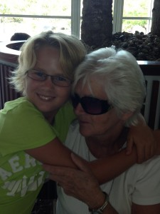 Jaci and Abuela ...